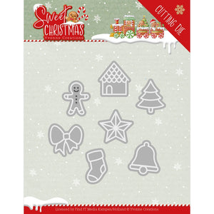 Yvonne Creations Sweet Christmas Cutting Die - Sweet Christmas Cookies