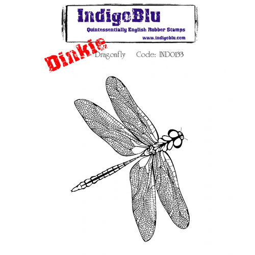 Dragonfly A7 Dinkie Rubber Stamp