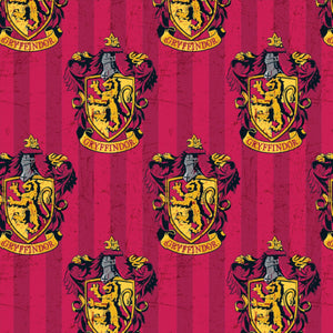 Harry Potter Cotton Fabric - Gryffindor House