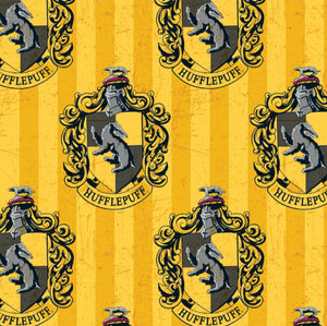 Harry Potter Cotton Fabric - Hufflepuff House