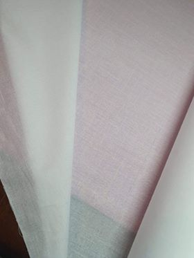 Cotton Interfacing - Iron on - per half metre