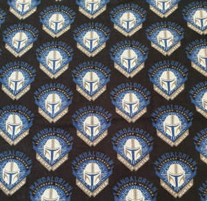 Mandalorian Cotton Flannel - Mandalorian Badge