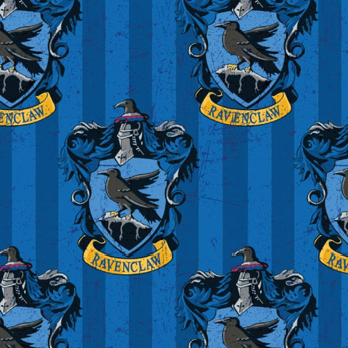 Harry Potter Cotton Fabric - Ravenclaw House