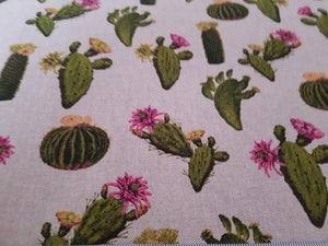 Fabric Remnant - Cactus Canvas Fabric