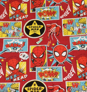 Marvel Cotton Print - Spiderman