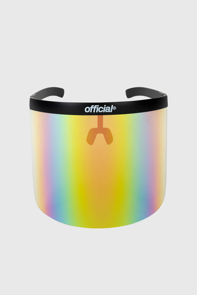 Apex Face Shield ULTRA (Black / Rainbow)