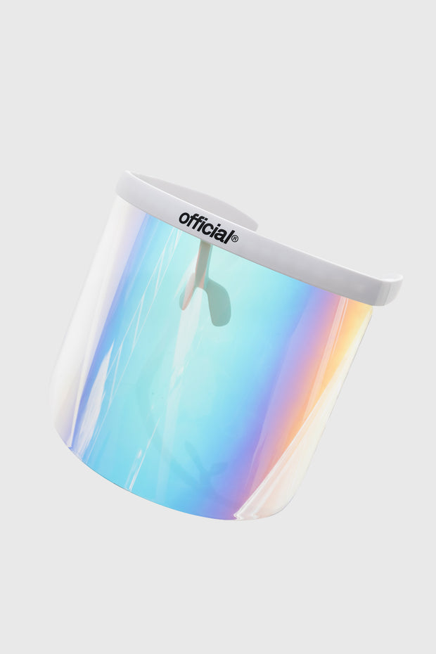 Apex Face Shield ULTRA (White / Rainbow)
