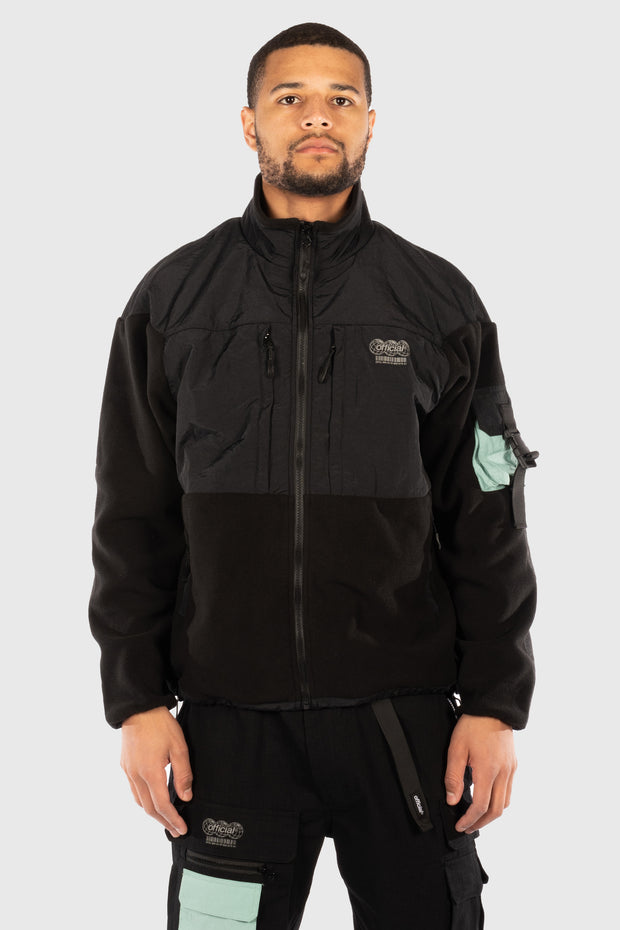 Ascent Tech Fleece Jacket (Black) 1