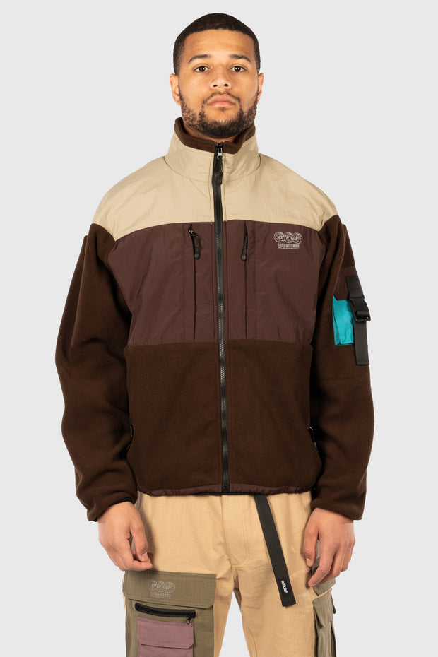 Ascent Tech Fleece Jacket (Brown)