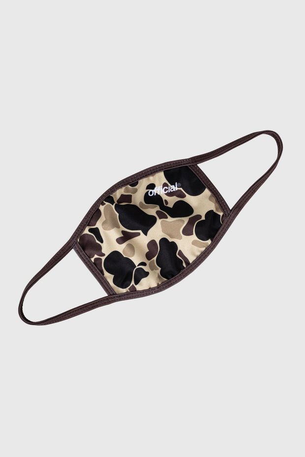 Duck Camo Face Mask (Brown)