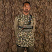 Brush Camo Tri-Strap Chest Utility Bag