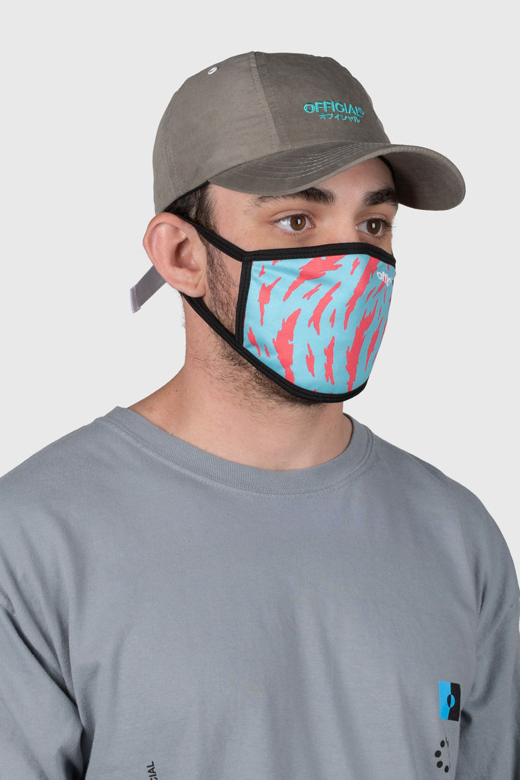 Danamo Blue Face Mask