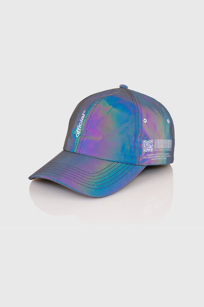 RFLCTIV Rainbow Reflective Dark Tech Dad Hat