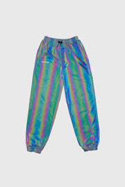 RFLCTIV Squid Ink Dichroic Reflective Track Pant