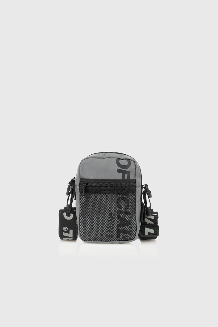 EDC Utility Shoulder Bag (Reflective Silver)