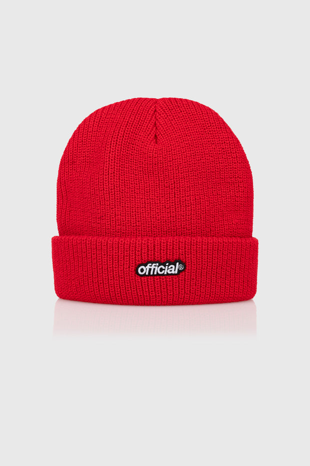 Everyday Official Beanie (Red)