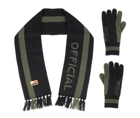 Scarf/Glove Set BLK