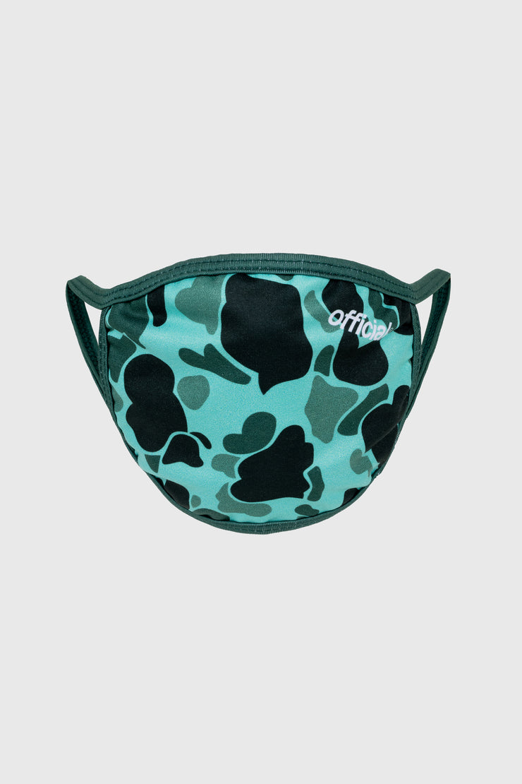 Duck Camo Face Mask (Green)