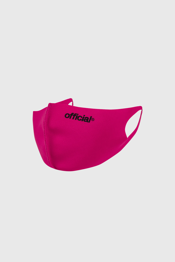 [Kids Size] Official Nano-Polyurethane Face Mask (Pink)
