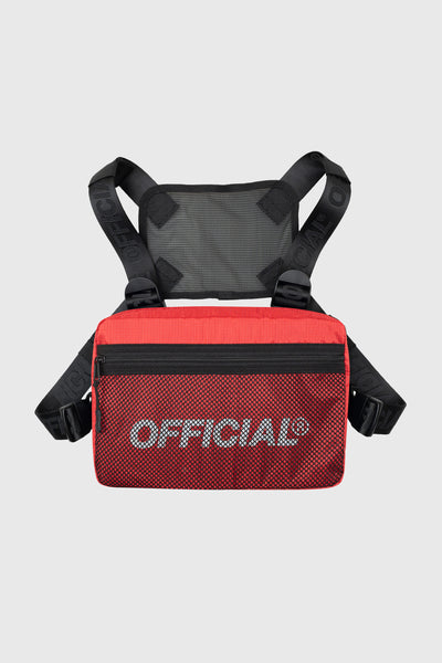 Melrose 2.0 Utility Chest Bag (Red)