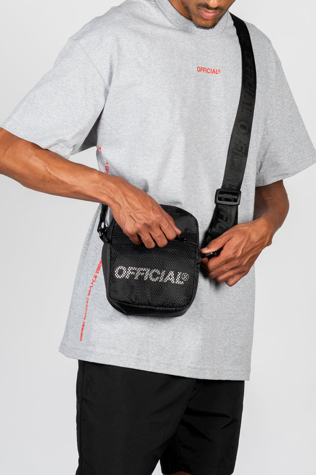 Melrose 2.0 Hip Utility Shoulder Bag (Black)