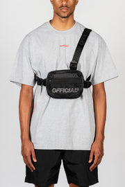 Melrose 2.0 Tri-Strap Chest Utility Bag (Black)