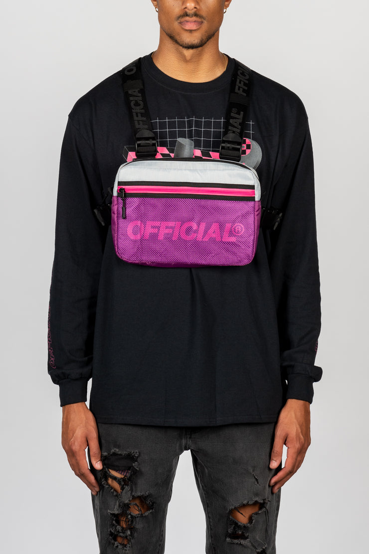 Melrose 2.0 Utility Chest Bag (Purple)