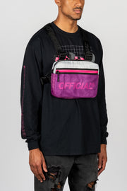 Melrose 2.0 Chest Utility Bag (Purple)