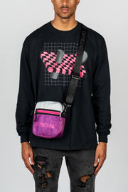 Melrose 2.0 Hip Utility Shoulder Bag (Purple)
