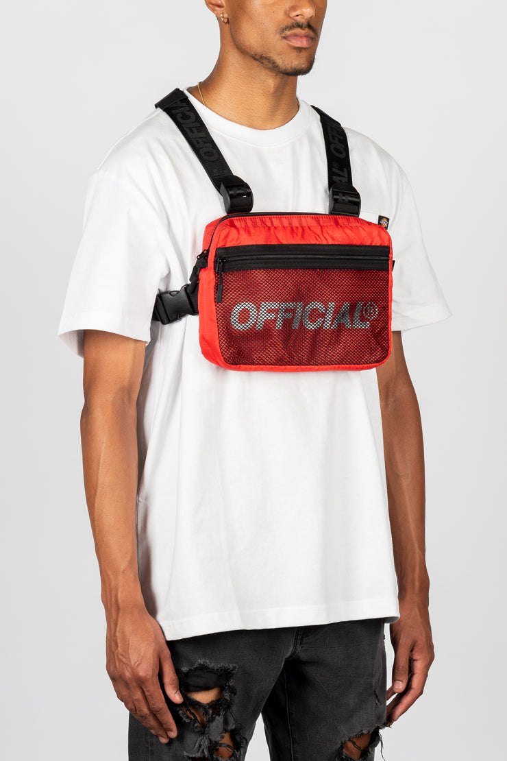 Melrose 2.0 Chest Utility Bag (Red)