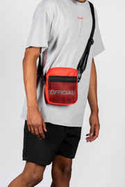Melrose 2.0 Hip Utility Shoulder Bag (Red)