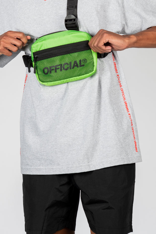 Melrose 2.0 Tri-Strap Utility Chest Bag (Volt)