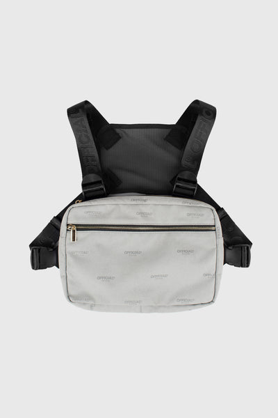 Milano Luxe Utility Chest Bag (Gray)