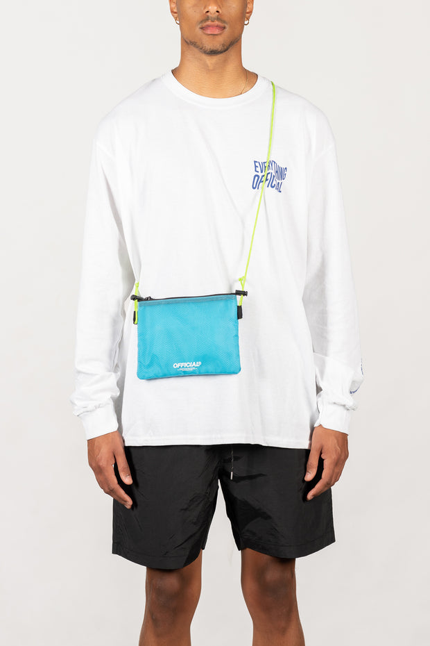 Vapour Mini Satchel Shoulder Bag (Blue)