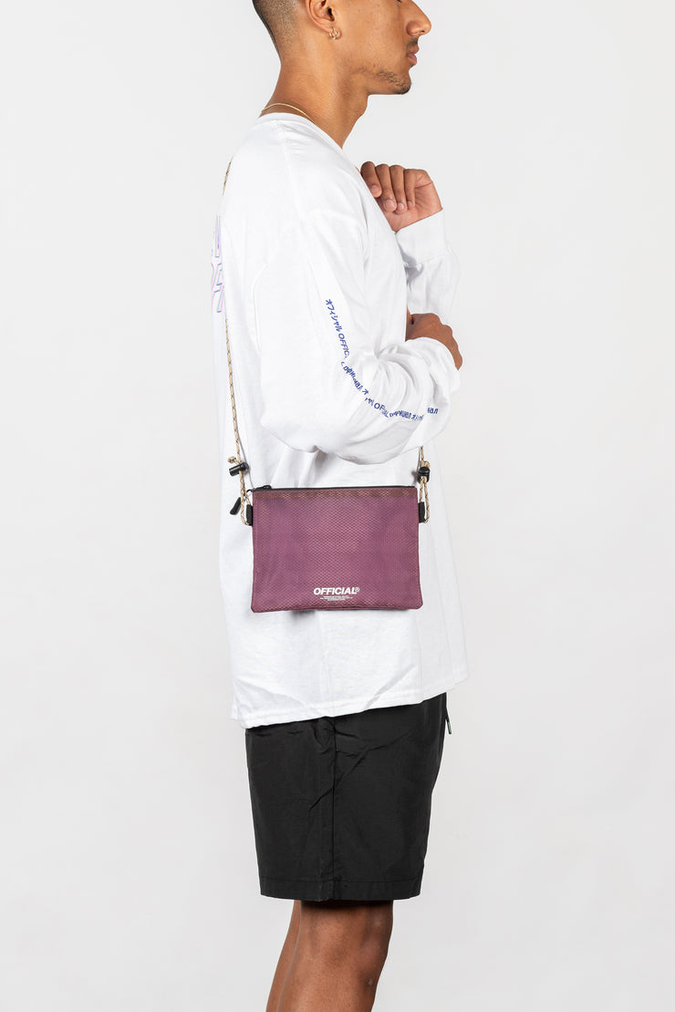 Vapour Mini Satchel (Burgundy)
