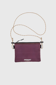 Vapour Mini Satchel Shoulder Bag (Maroon)