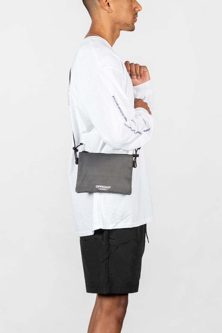 Vapour Mini Satchel Shoulder Bag (Gray)