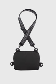 Neck Utility Shoulder Bag - Black