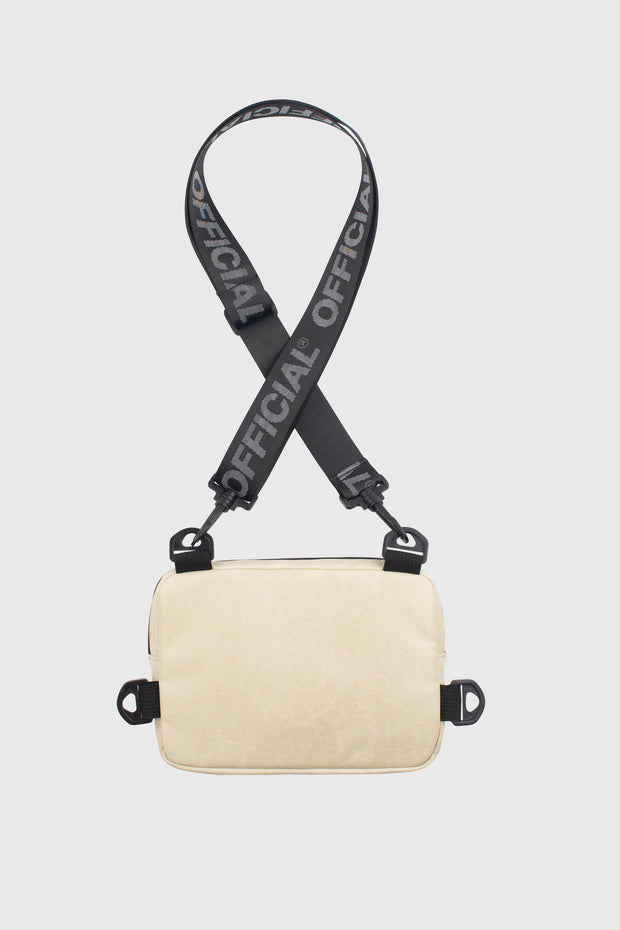 Neck Utility Shoulder Bag - Luxe Crema
