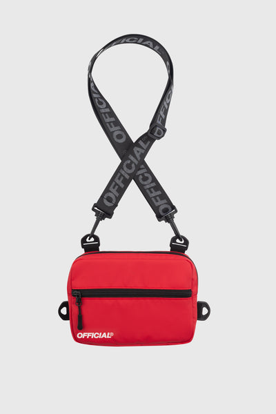 Neck Utility Bag - Red
