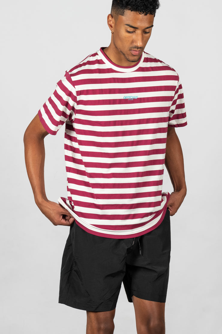 Neue Striped T-Shirt Burg