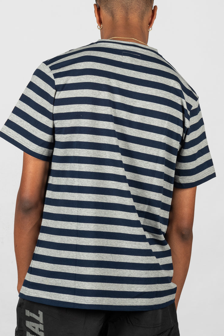 Neue Striped T-Shirt Navy