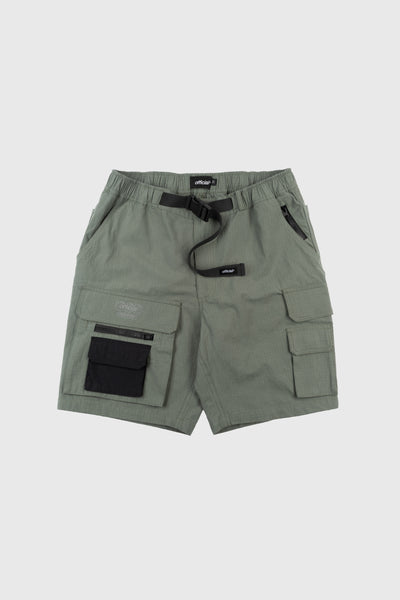 Nexus Ripstop Cargo Shorts (Dusty Olive)