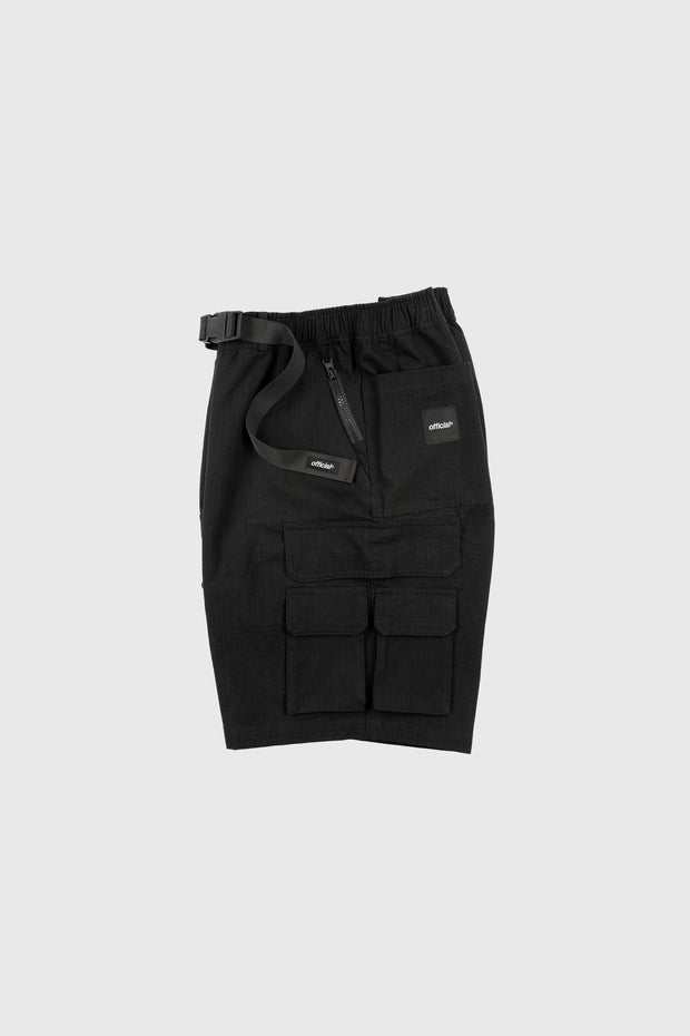 Nexus Ripstop Cargo Shorts (Black)