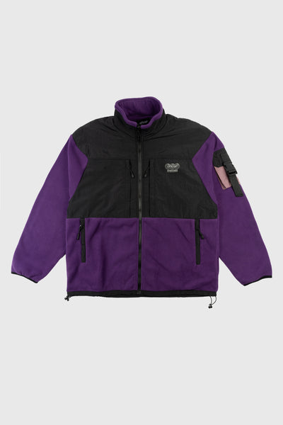 Ascent Tech Fleece Jacket (Purple)