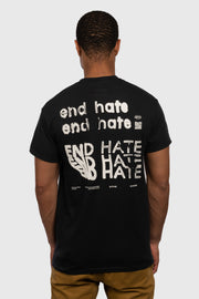 End Hate - Take Action T-Shirt (Black)