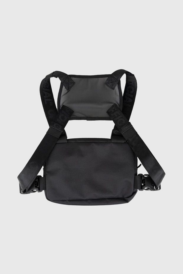 Compact Essential Chest Bag (Black)