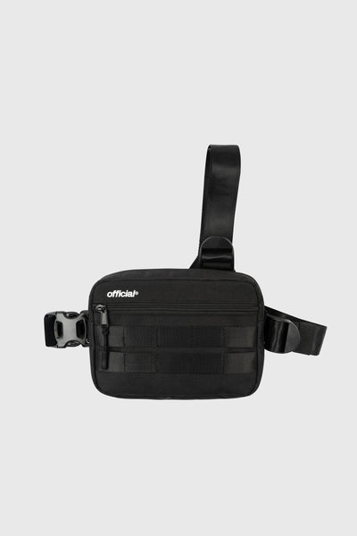 Essential Tri-Strap Chest Bag (Black)