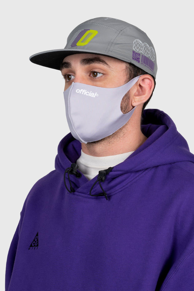 Official Nano-Polyurethane Face Mask (Light Grey)