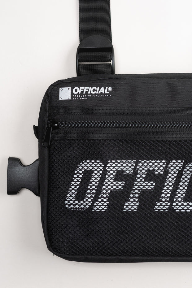 Melrose Utility Chest Bag (Black)